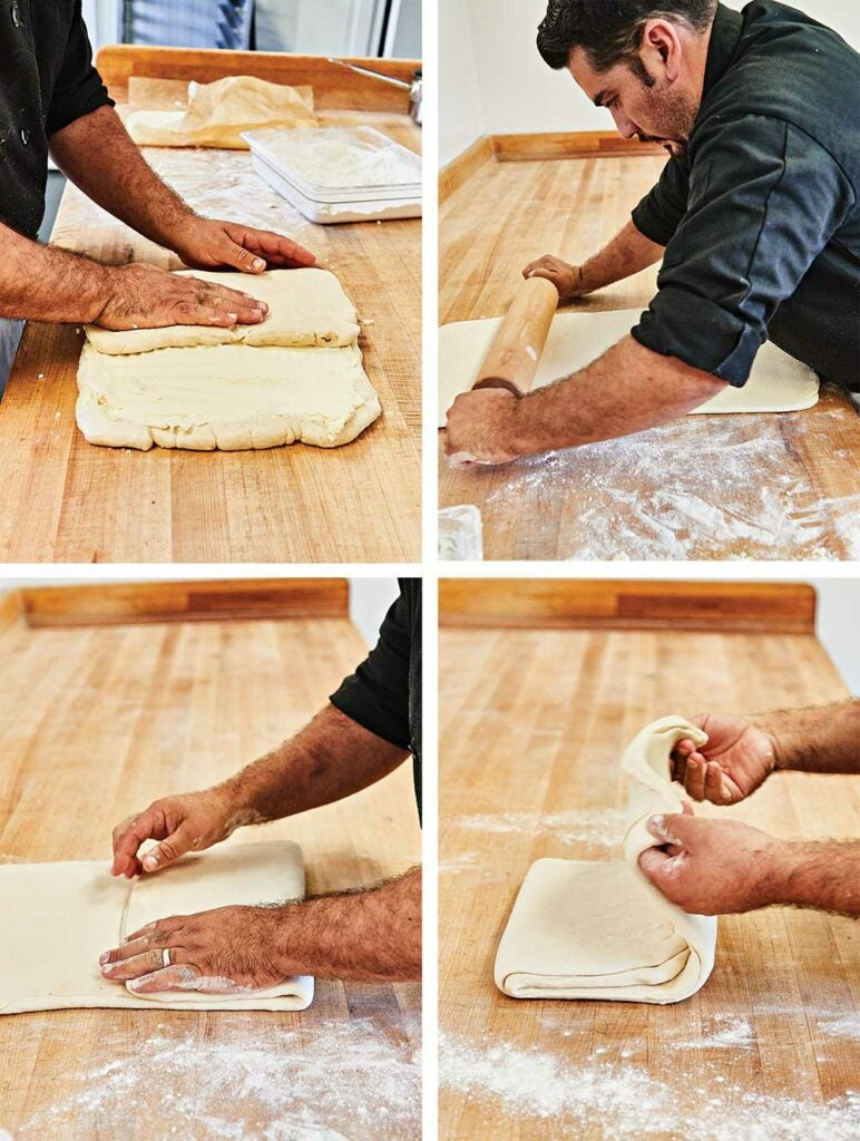 tartine prep process