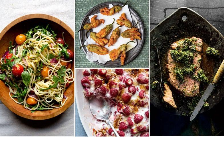 Menu: A Summer Market Dinner