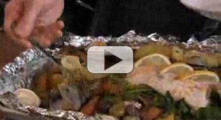 Making Whole Roasted Red Snapper