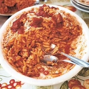 Sardinian Gnocchetti with Tomato Sauce