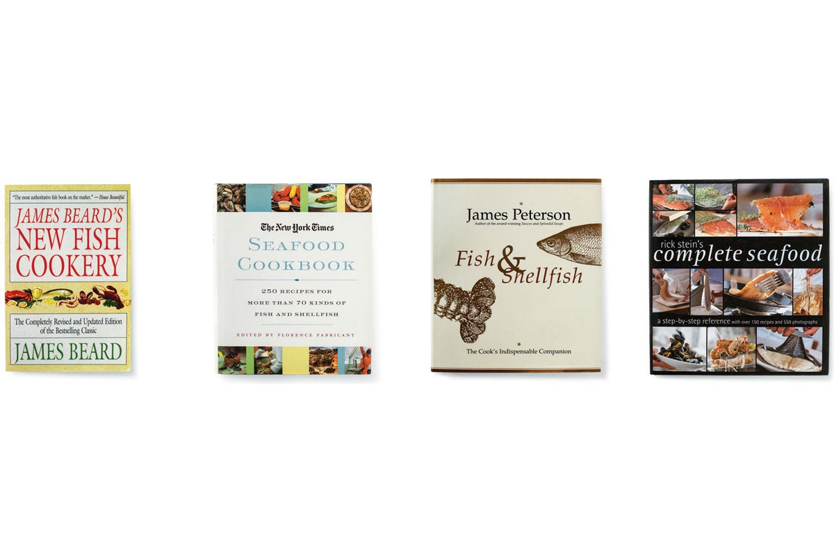 The SAVEUR Bookshelf: Seafood Cookbooks