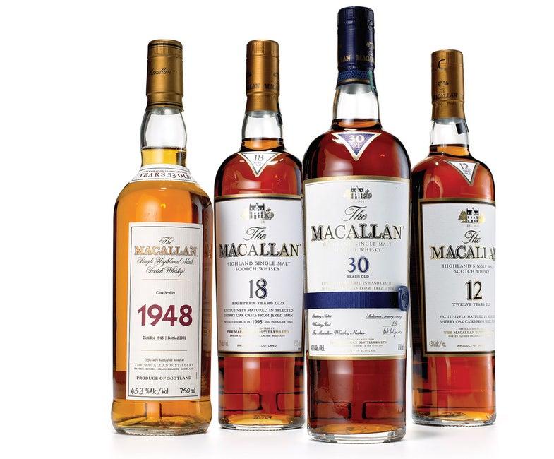 The Macallan Scotches