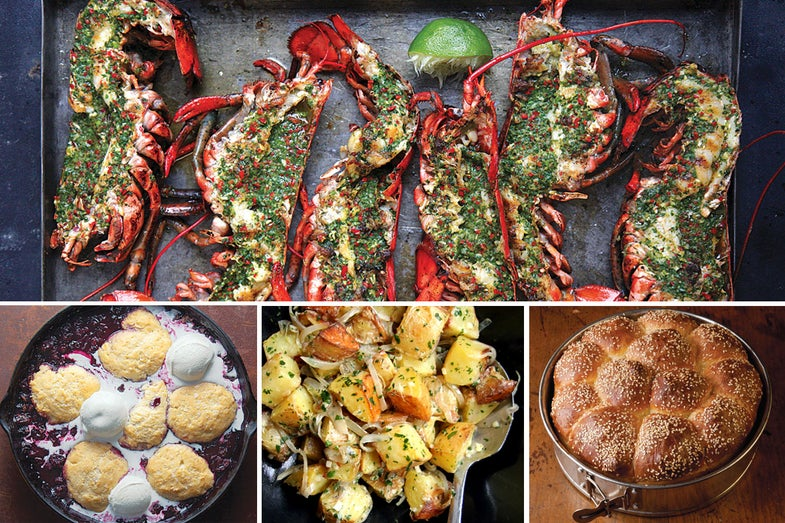 A New England Seafood Cookout