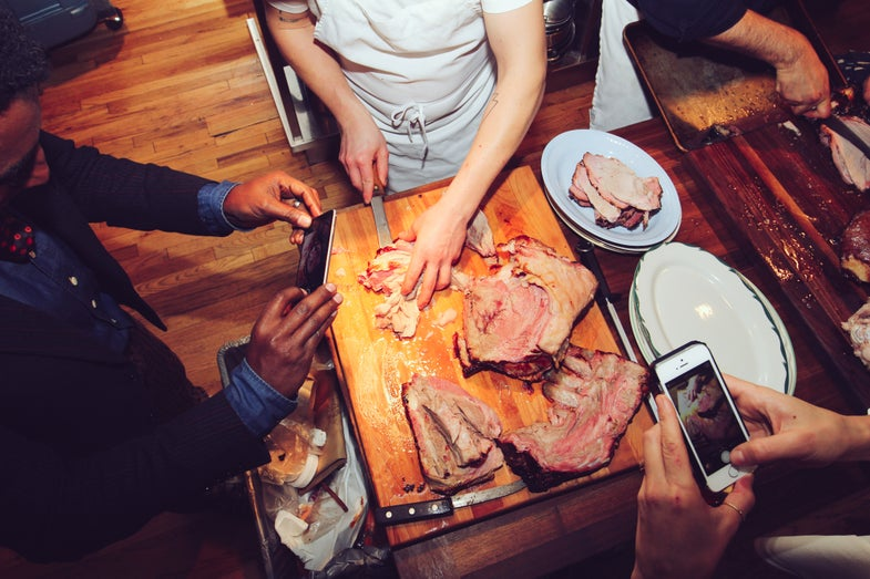 Our Bourbon-Fueled Feast with Wild Turkey and The Meat Hook