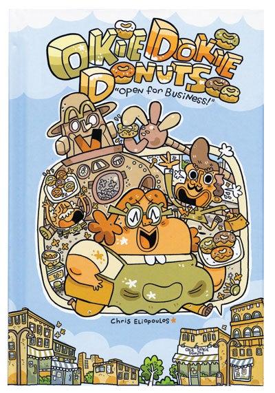 Okie Dokie Donuts comic book