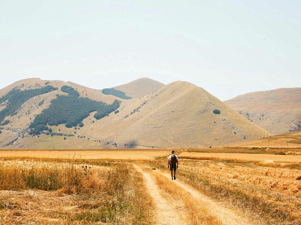 castelluccio mountains
