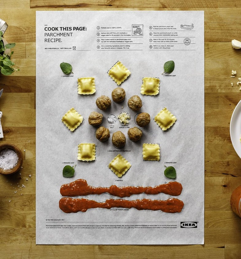 Finally, an IKEA Product With Instructions We Can Actually Follow—Illustrated Recipes