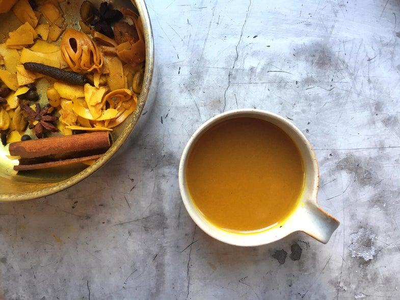 Spiced Turmeric and Coconut Herbal Tea