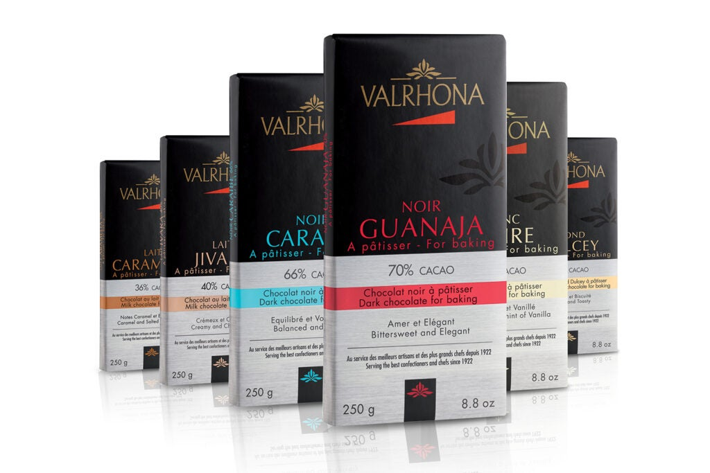 Valrhona baking chocolate bars