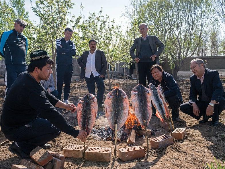 grilled cumin fish