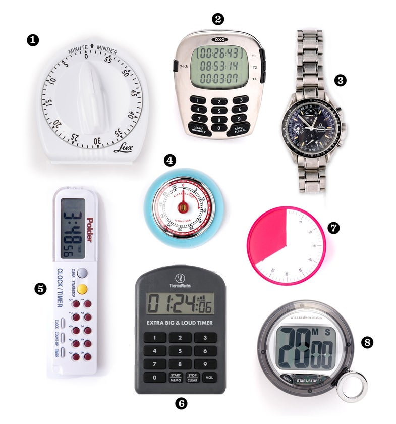 kitchen timers, cooking timers