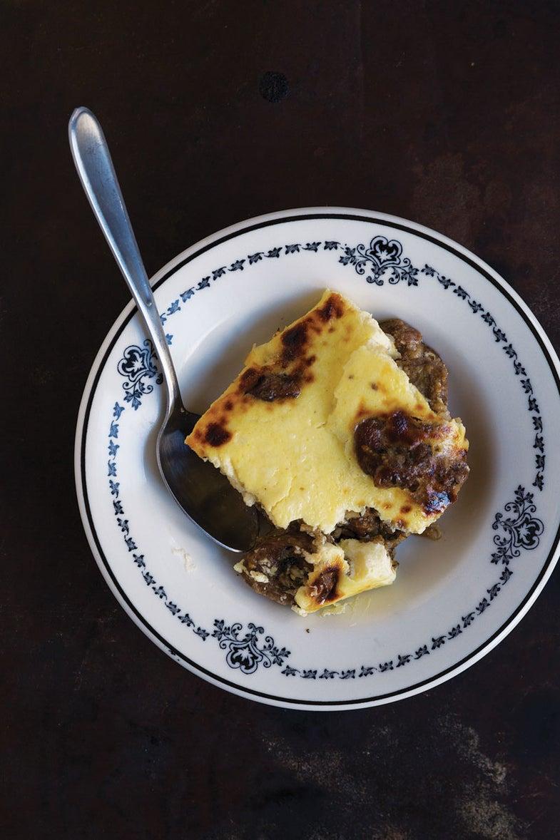 Albanian Baked Lamb and Rice with Yogurt (Tave Kosi)