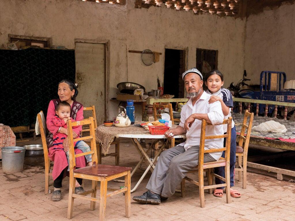 uyghur family