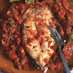 Fish Veracruz-Style