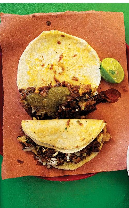 Menu: Mexican Grilling