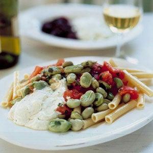 Pasta Salad with Favas