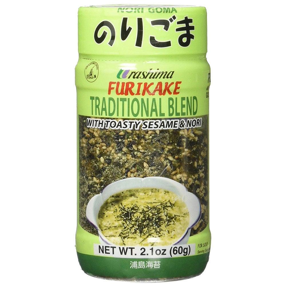 japanese sesame seaweed nori rice furikake