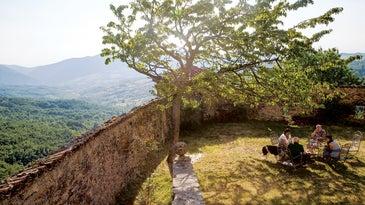 Backyard in Piedmont, Italy