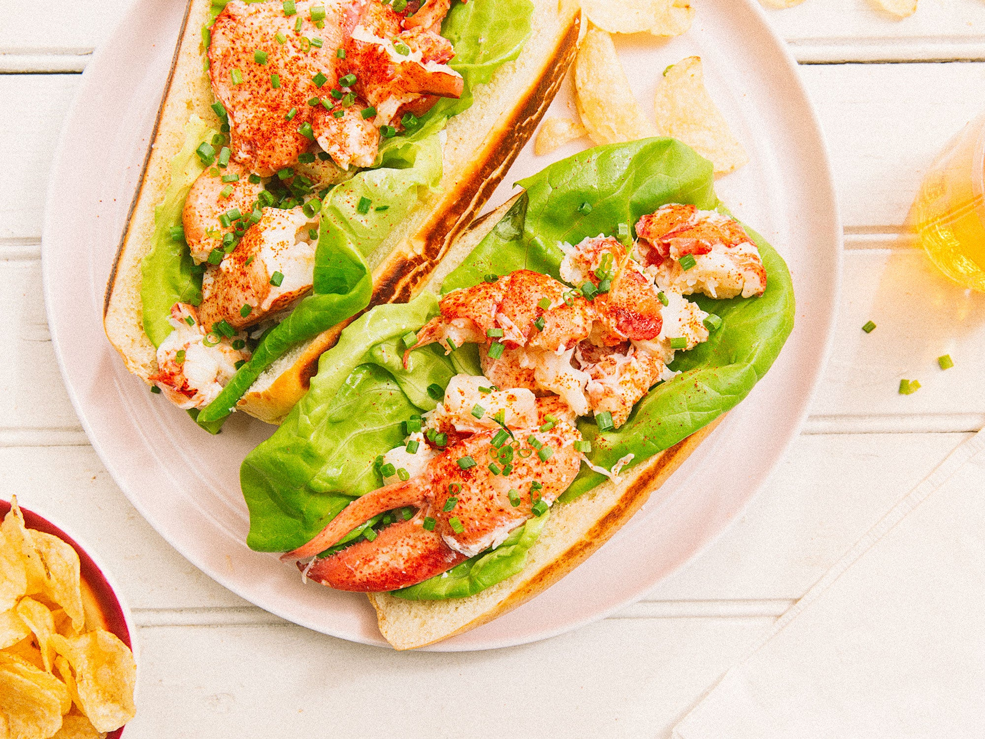 Connecticut-Style Lobster Rolls