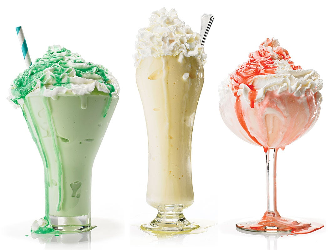 Ice Cream Drinks and Cocktails