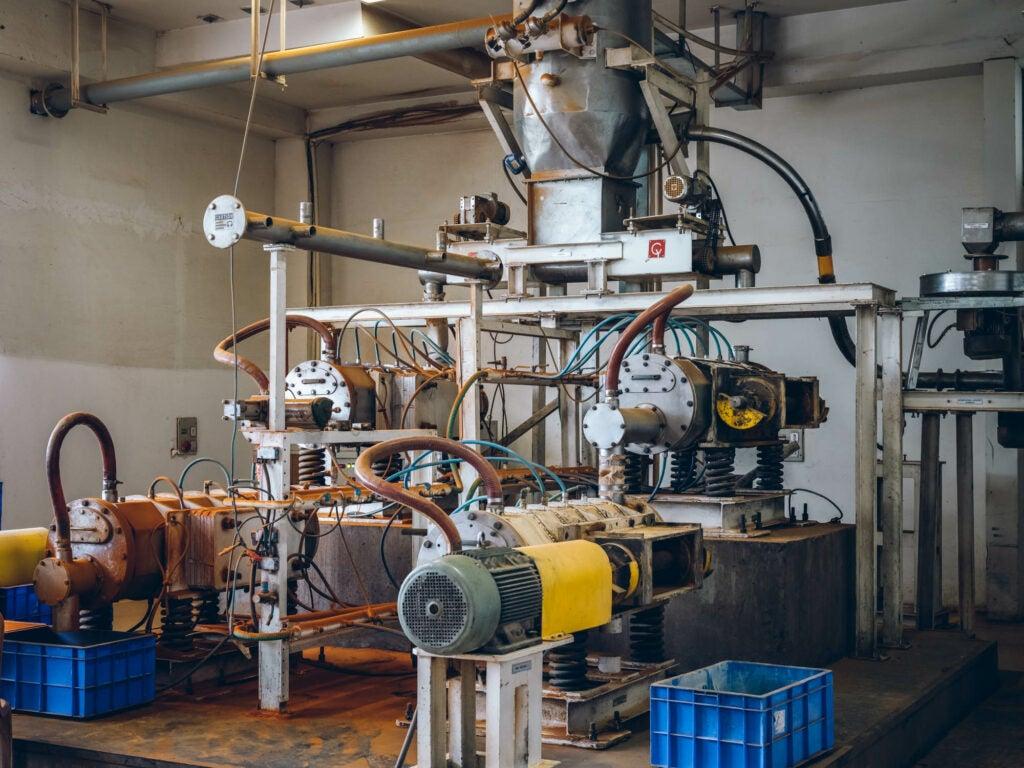 Machinery at Maiyas
