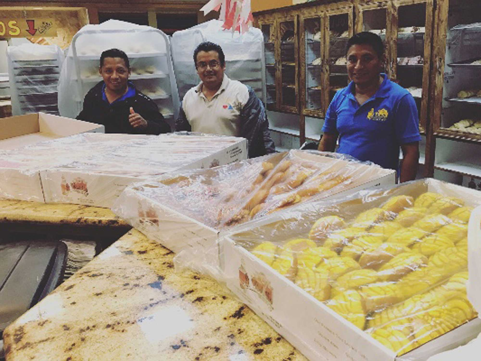 Trapped by Hurricane Harvey, These Bakers Made Thousands of Loaves of Bread for Those in Need