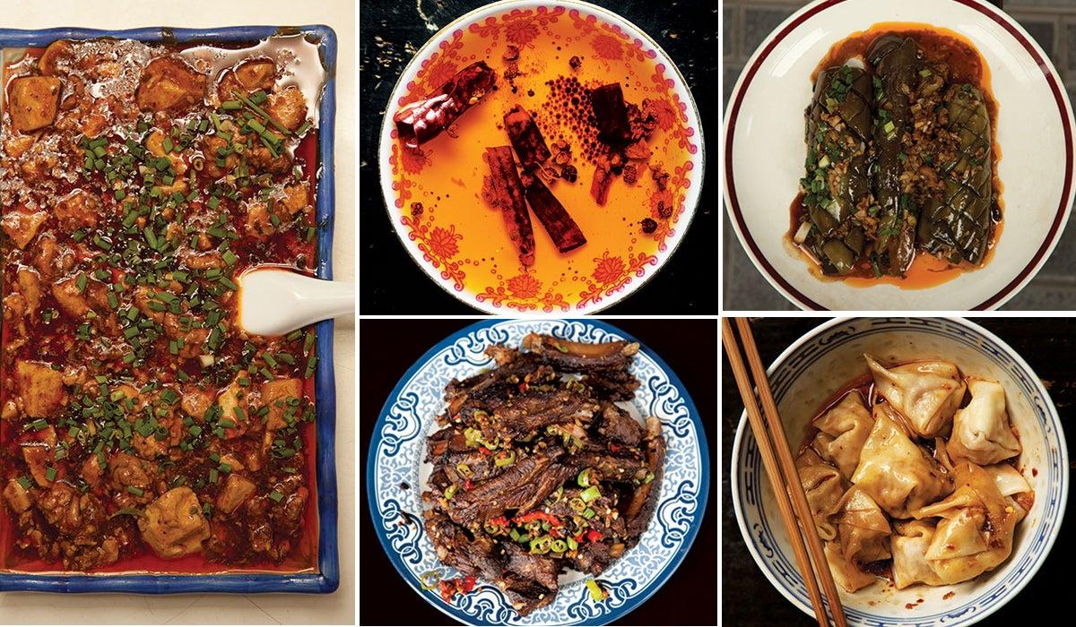 Menu: A Spicy Sichuanese Feast