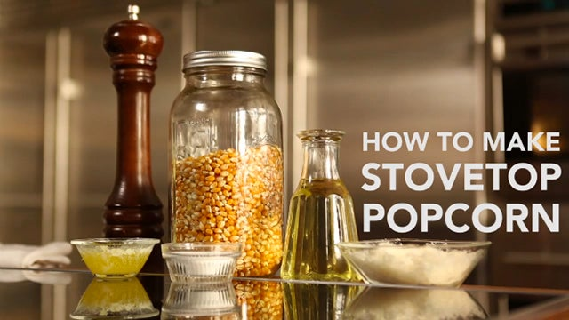 VIDEO: How to Make Stovetop Popcorn
