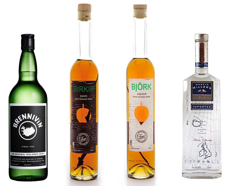 Tasting Notes: Icelandic Spirits