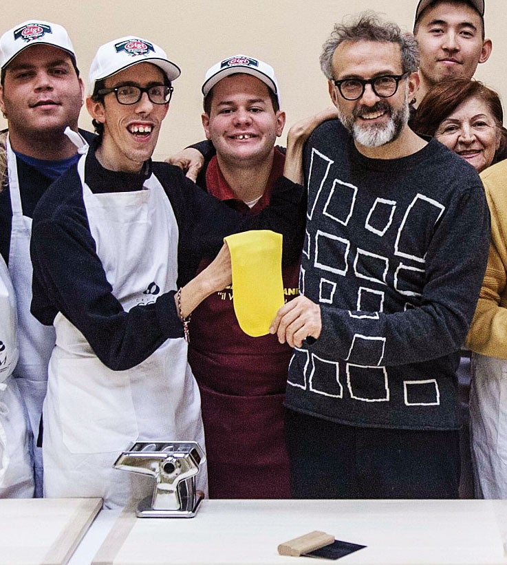 Massimo Bottura's Special-Needs Program Teaches Life Skills Through Tortellini