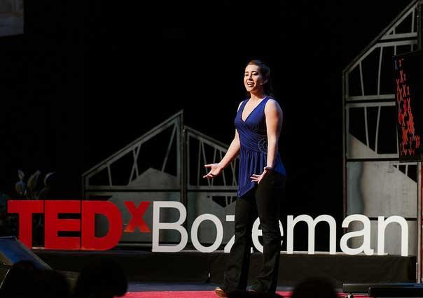 Speaking at TEDx Bozeman