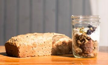 NYC to CSA: Zucchini Bread