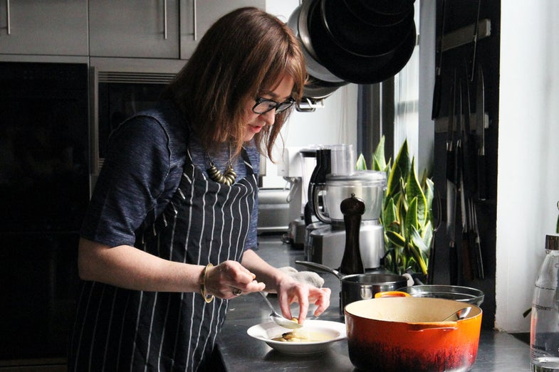 Andrea Reusing's Mussel Soup