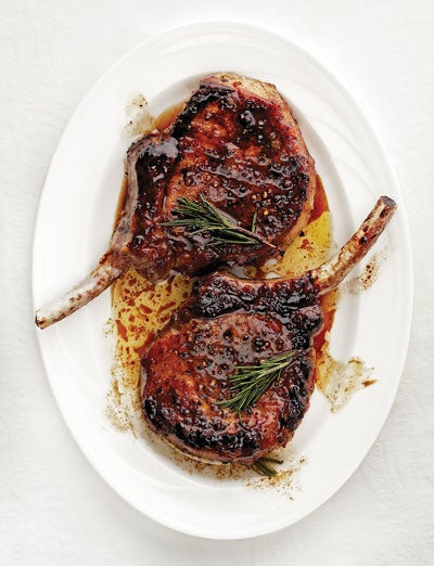 Sweet and Sour Glazed Pork Chops (Maiale in Agrodolce)