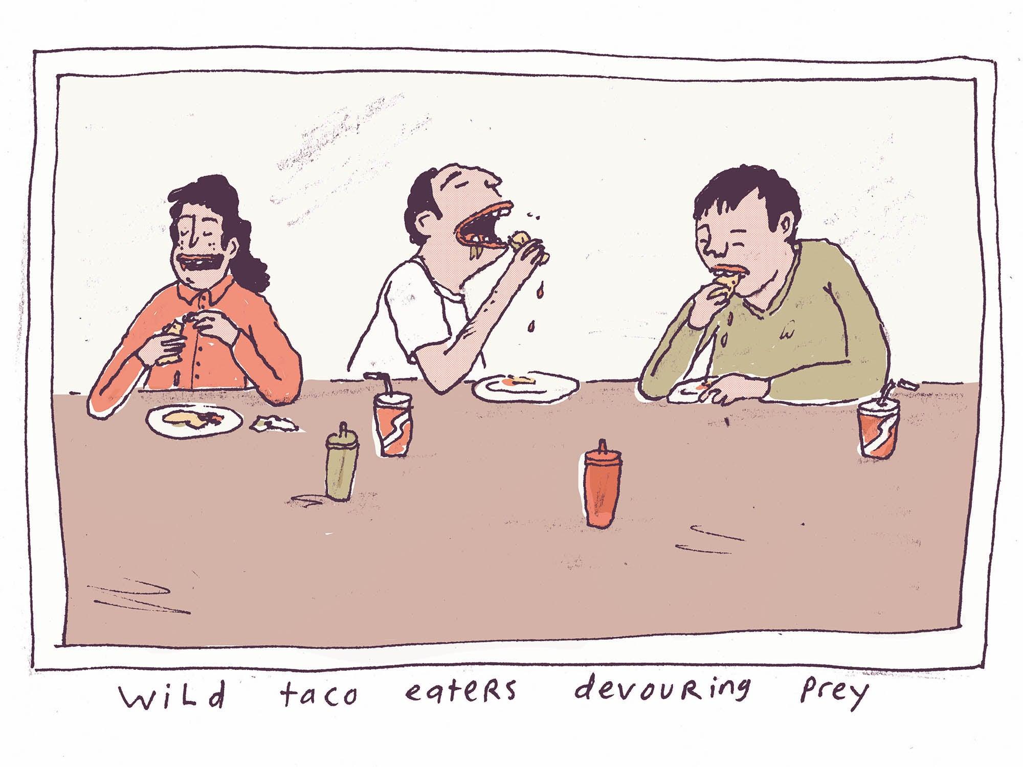Dispatch: Tacos de Canasta Especiales, Mexico City