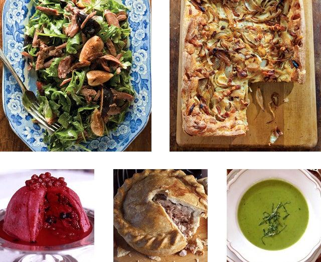 Menu: An English Countryside Luncheon