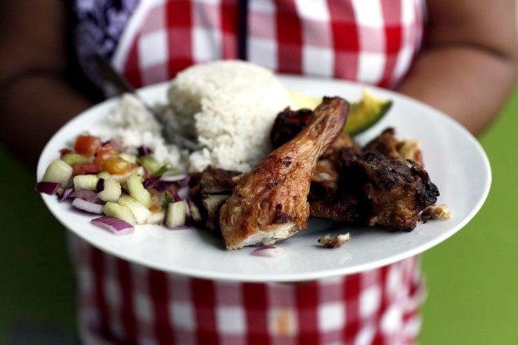 Pollo Al Ajillo (Panamanian Garlic Chicken)