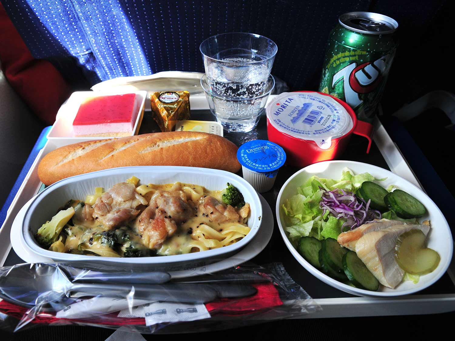 Airlines Are Turning to Gourmet Techniques to Improve In-Flight Meals