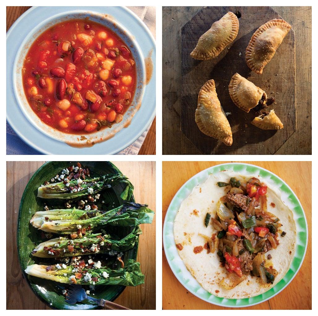 Menu: A California Ranch Dinner