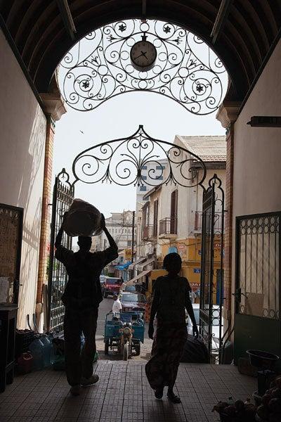 Marche Kermel, in Dakar