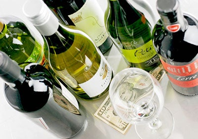 Top Wines at Bargain Prices