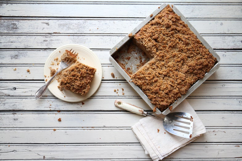 The Perfect Gluten-Free Crumb Cake