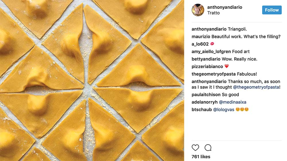 We're Obsessed With This Pasta Maker's Instagram