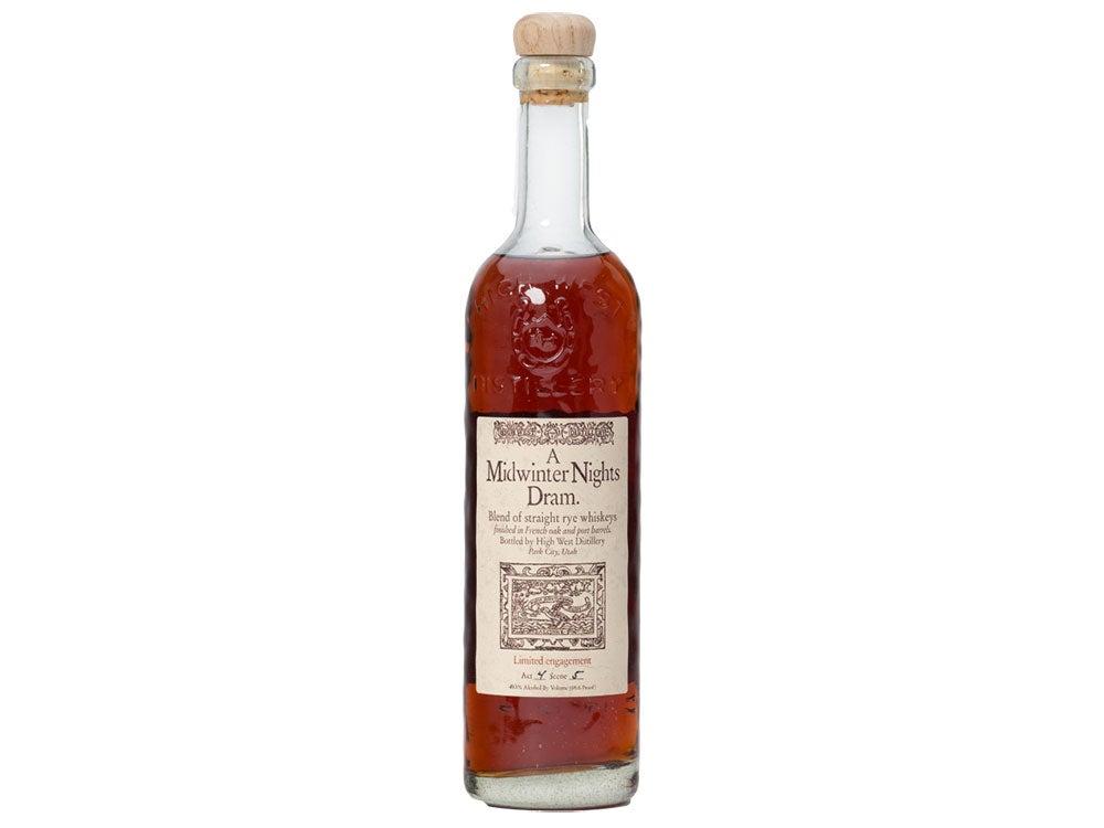 High West A Midwinter Night's Dram Rye Whiskey