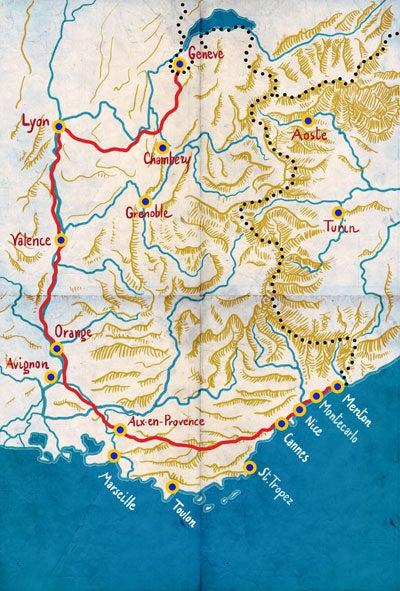 The Guide: France's Route 7