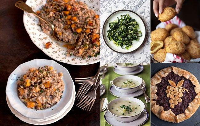 Menu: A Vegetarian Harvest Dinner