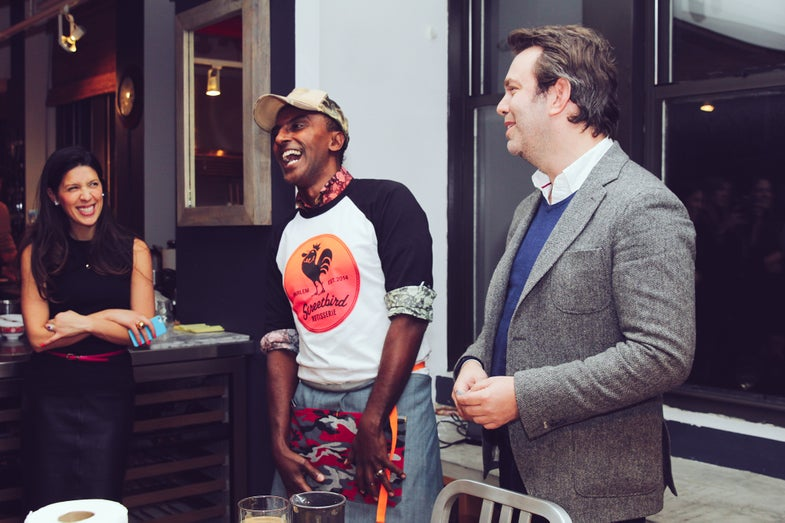 We Convinced Marcus Samuelsson to Cook Us Dinner
