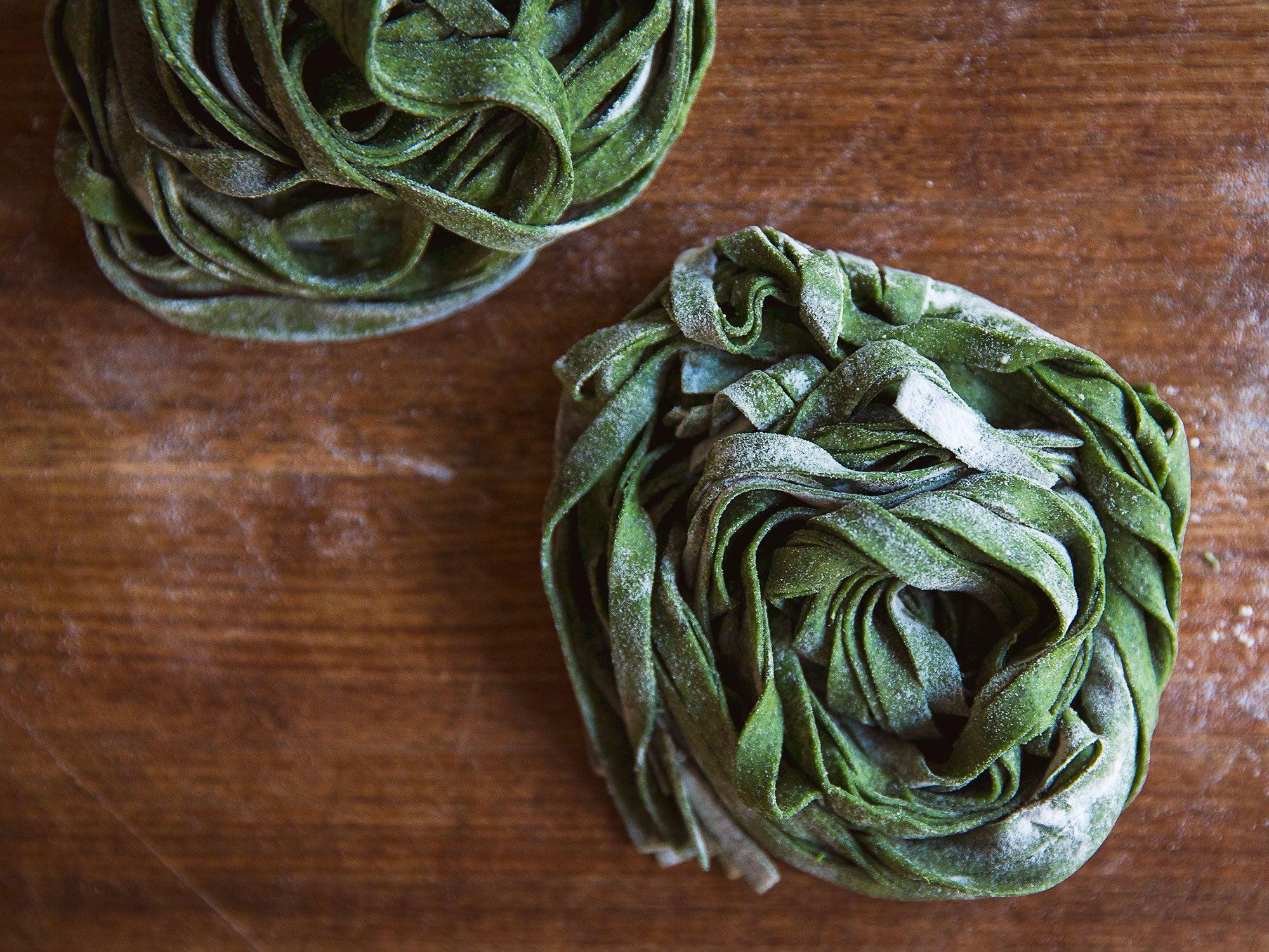 Pasta Verde (Spinach Pasta)