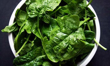 Winter Vegetables: Spinach