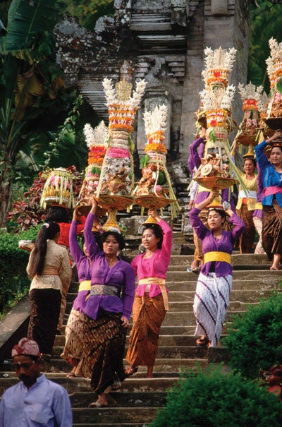 Food of the Gods: Culinary Sculpture Offerings in Bali